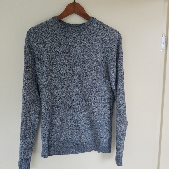 Selected Homme George Zigzag Crew Neck Sweater